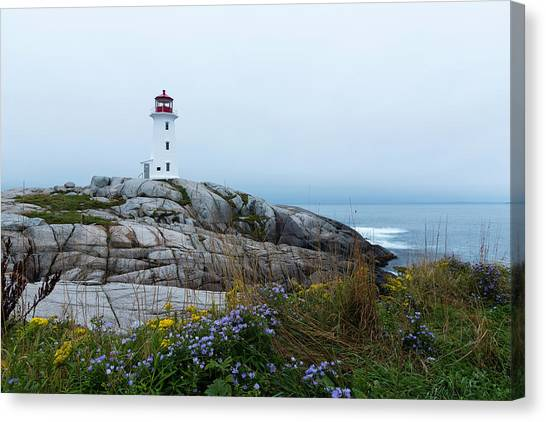 Nova Scotia Canvas Print - The Colors Of Peggy by Everet Regal
