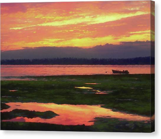 The Colors Of Ship Creek Canvas Print