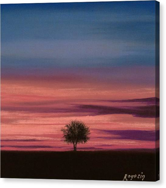 The Colors Of The Night Canvas Print