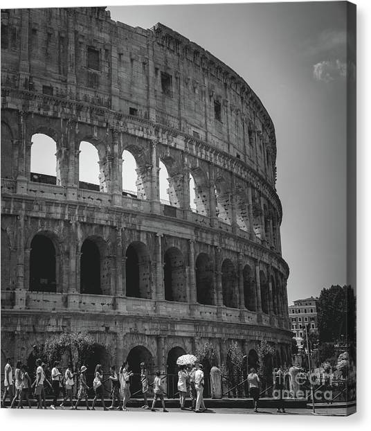 The Colosseum, Rome Italy Canvas Print