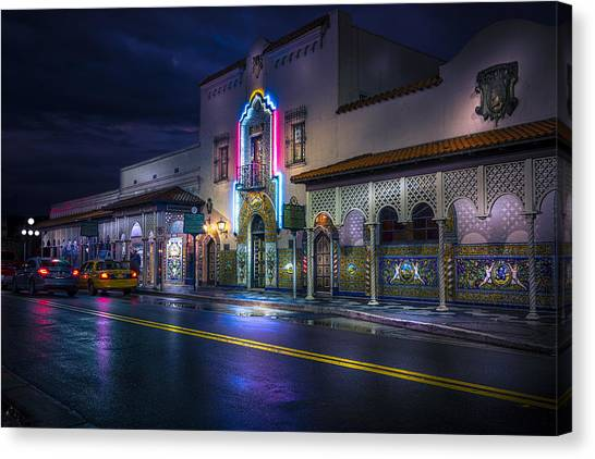 Flamenco Canvas Print - The Columbia Of Ybor by Marvin Spates