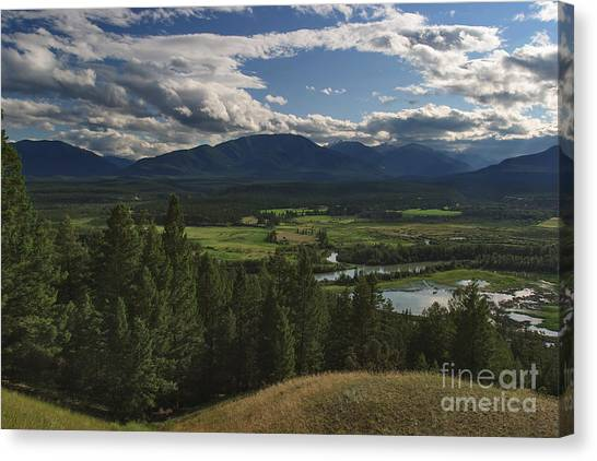 The Columbia Valley Canvas Print