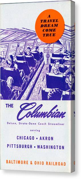 The Columbian Canvas Print