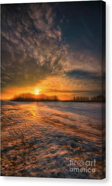 Saskatchewan Canvas Print - The Coming Warmth by Ian McGregor