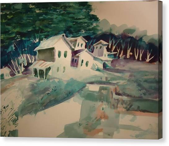 The Commune Canvas Print