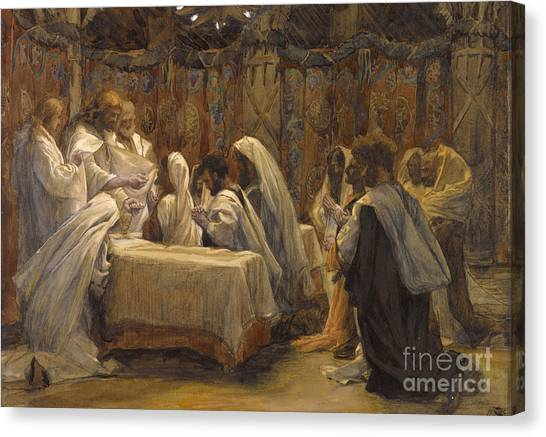 Apostles Canvas Print - The Communion Of The Apostles by Tissot
