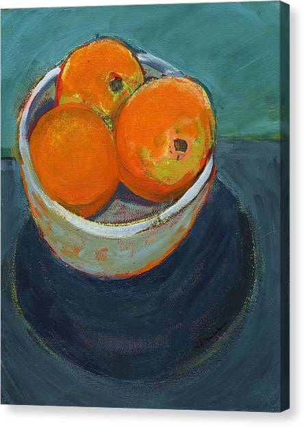 Fruits Canvas Print - The Community Bowl Project by Jennifer Lommers