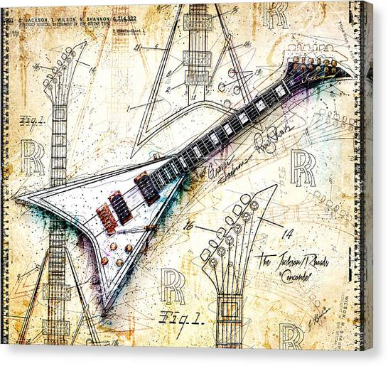 The Concorde Canvas Print
