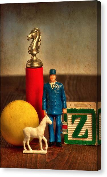 Dada Art Canvas Print - The Conductor by Jeff  Gettis