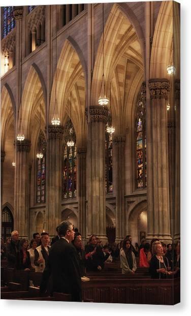 Patrick Canvas Print - The Congregation by Jessica Jenney