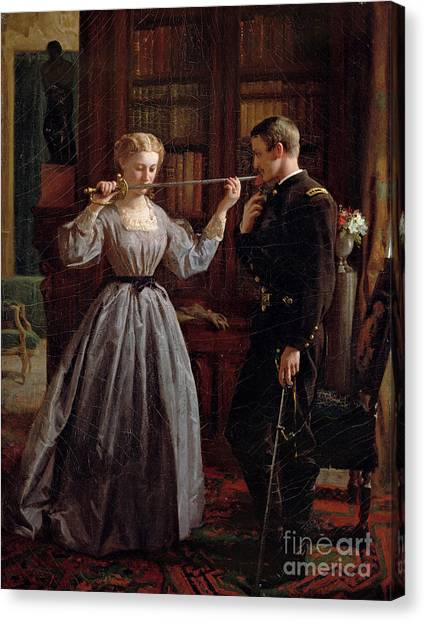 Good Luck Canvas Print - The Consecration by George Cochran