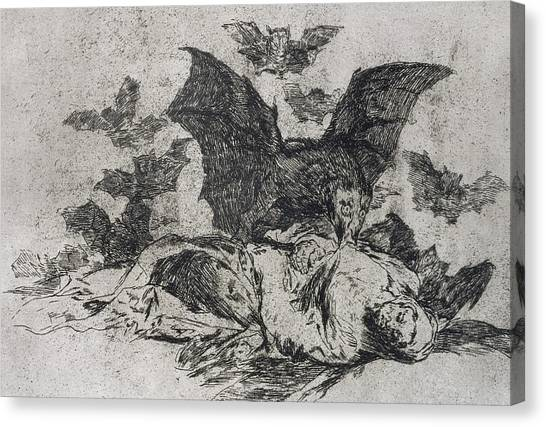 Carcass Canvas Print - The Consequences by Goya