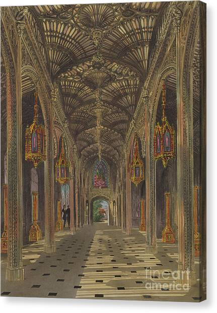 Vault Canvas Print - The Conservatory, Carlton House by Thomas Sutherland