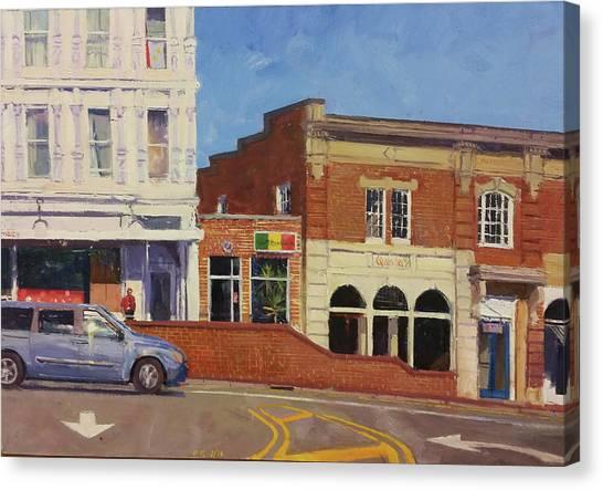 University Of Virginia Canvas Print - The Corner Headshop by Edward Thomas