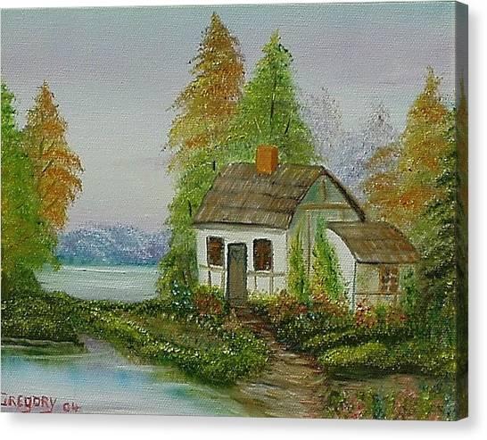 The Cottage Canvas Print