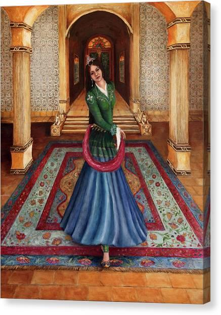 The Court Dancer Canvas Print