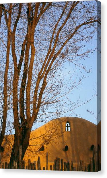 The Cross Canvas Print by Lynard Stroud