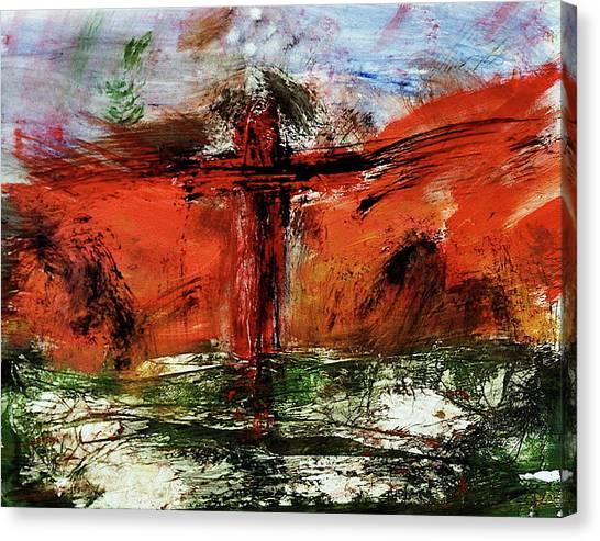 The Crucifixion #1 Canvas Print