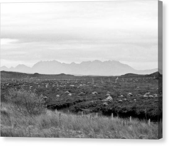 The Cuillin Canvas Print by Dan Andersson