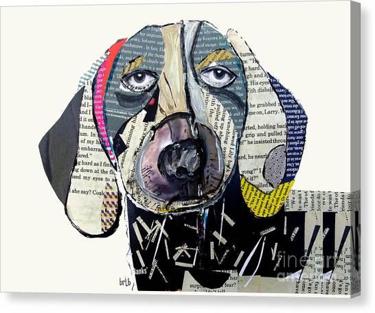 Dachshunds Canvas Print - The Dachshund by Bri Buckley