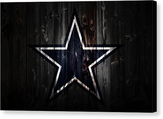 Jacksonville Jaguars Canvas Print - The Dallas Cowboys 2a by Brian Reaves
