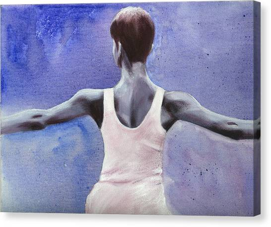 The Dancer Canvas Print by Fiona Jack