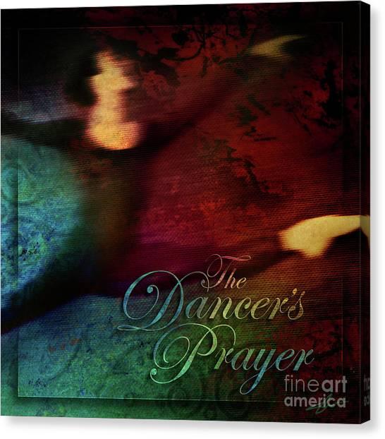 The Dancer's Prayer Canvas Print by Shevon Johnson
