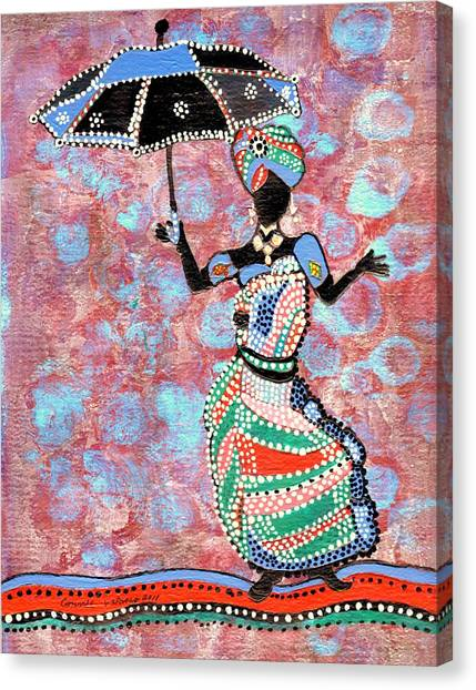 The Dancing Lady Canvas Print