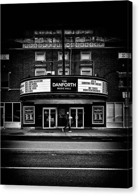 The Danforth Music Hall Toronto Canada No 1 Canvas Print