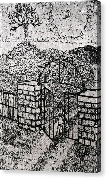 The Dare Canvas Print