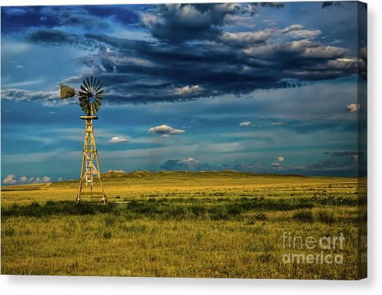 The Dark Wind Canvas Print