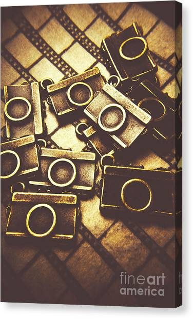 Vintage Camera Canvas Print - The Darkroom Process by Jorgo Photography - Wall Art Gallery