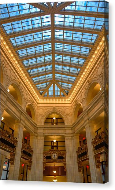 The David Whitney Building Canvas Print