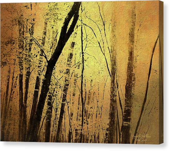 The Dawn Of The Trees Canvas Print