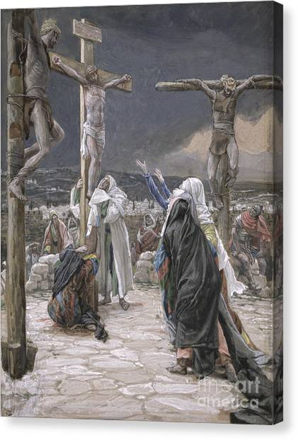 Jerusalem Canvas Print - The Death Of Jesus by Tissot