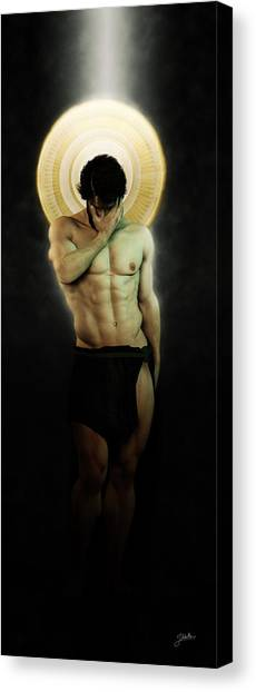 Atheism Canvas Print - The Deep Regret by Joaquin Abella