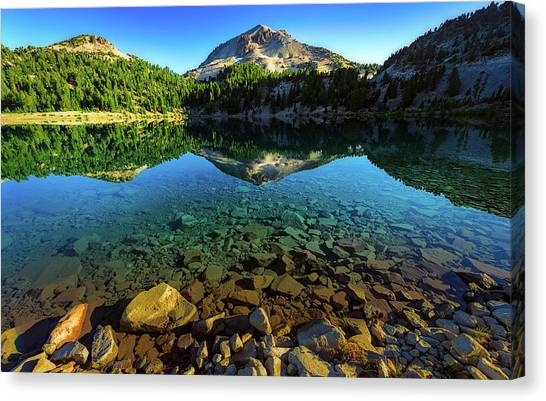 The Depths Of Lake Helen Canvas Print