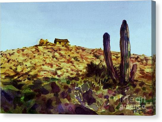 The Desert Place Canvas Print