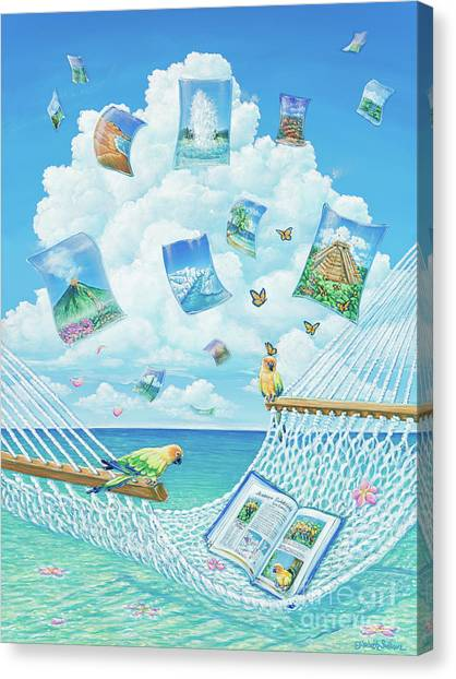 The Destinations Of A Dream Canvas Print