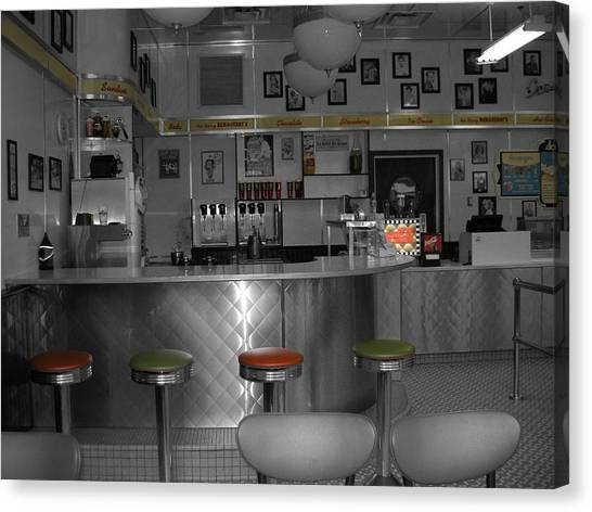 Canvas Print - The Diner by Audrey Venute