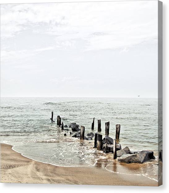 The Dock Canvas Print by Humboldt Street
