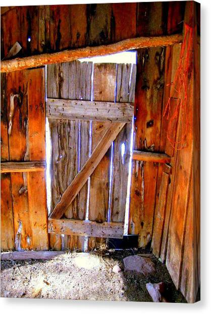 The Door Canvas Print by Gigi Kobel