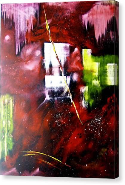 The Door To Eternity Canvas Print