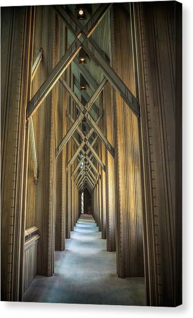 The Doorway Leading To... Canvas Print