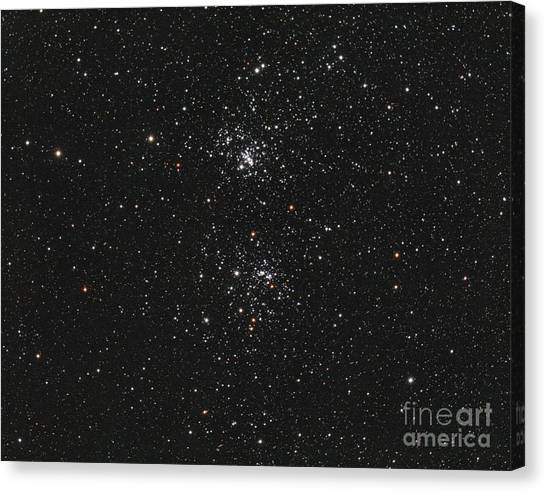The Double Cluster Canvas Print