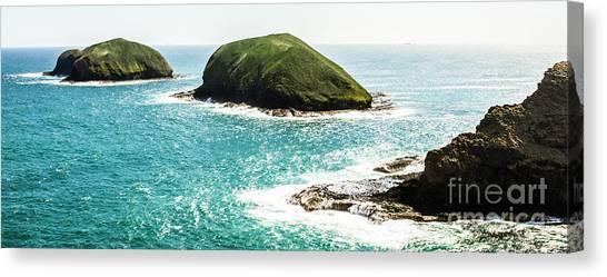 Ocean Cliffs Canvas Print - The Doughboys Island Landscape by Jorgo Photography - Wall Art Gallery