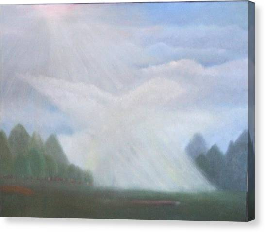 The Dove Cloud Canvas Print by Rana Adamchick