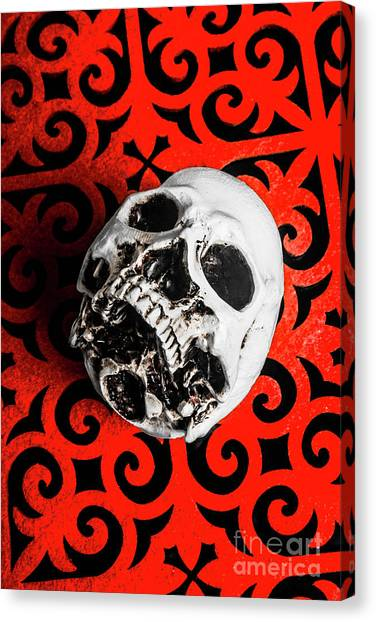 Skeletons Canvas Print - The Downfall by Jorgo Photography - Wall Art Gallery
