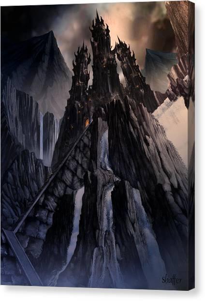 The Dragon Gate Canvas Print