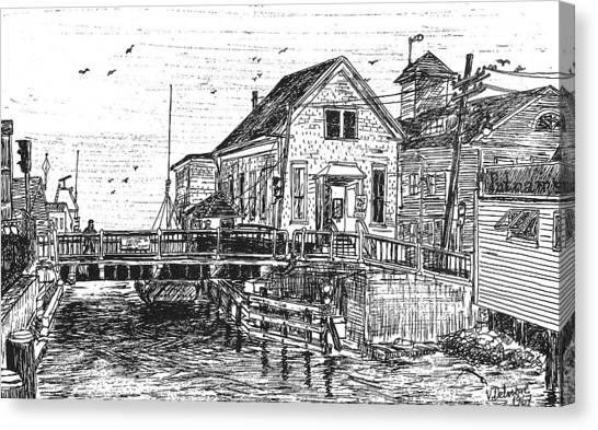 The Drawbridge Canvas Print